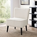 Rahm Beige Contemporary Lounge Chair Lifestyle