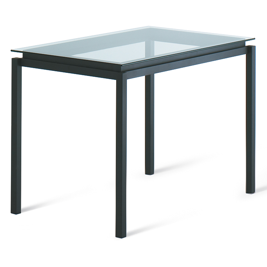 modern bar tables  raiden clear bar table  eurway - raiden clear glass  metal modern bar height table