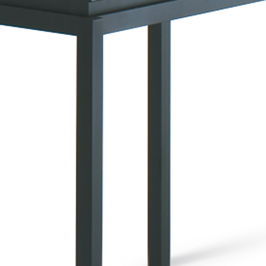 modern bar tables  raiden black bar table  eurway -  raiden glass  metal contemporary counter height table
