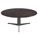 Ramili Round Emperador Marble Coffee Table by Euro Style