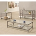 Ramsey Contemporary Glass Console Table