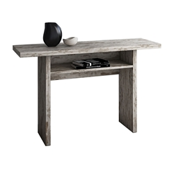 Rancor Vintage Wash Modern Console + Dining Table