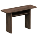 Rancor Dark Oak Modern Console + Dining Table