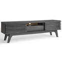 Ravenna Modern 59 Inch Charcoal TV Stand