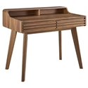 Ravenna Modern Walnut Writing Desk