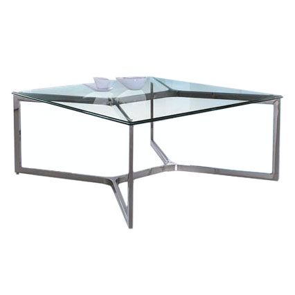 Ravensburg Modern Square Glass Coffee Table