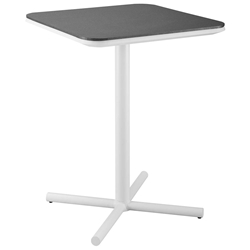 Ravina Modern White Outdoor Bar Table