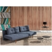 Recast Contemporary Sleeper Sofa in Blue by Innovation