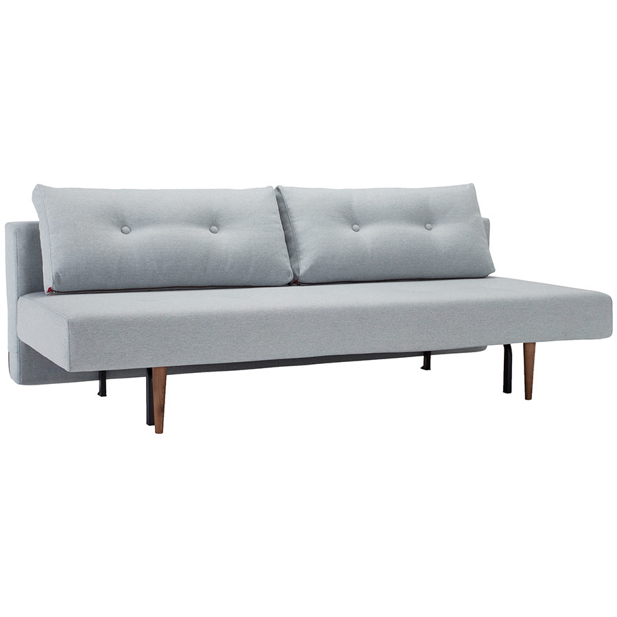 Recast Sleeper Sofa in Light Blue by Innovation