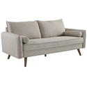 Redcliffe Modern Beige Fabric Sofa