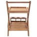 Reilly Contemporary Teak Serving Cart