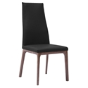 Remy Black Contemporary Dining Chair