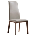 Ricky Taupe Contemporary Dining Chair
