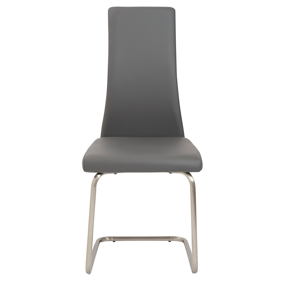 ... Rhea Gray Contemporary Side Chair ...