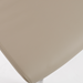 Rhea Taupe Leatherette Modern Dining Chair Detail