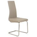 Rhea Taupe Modern Side Chair