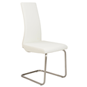 Rhea White Modern Side Chair