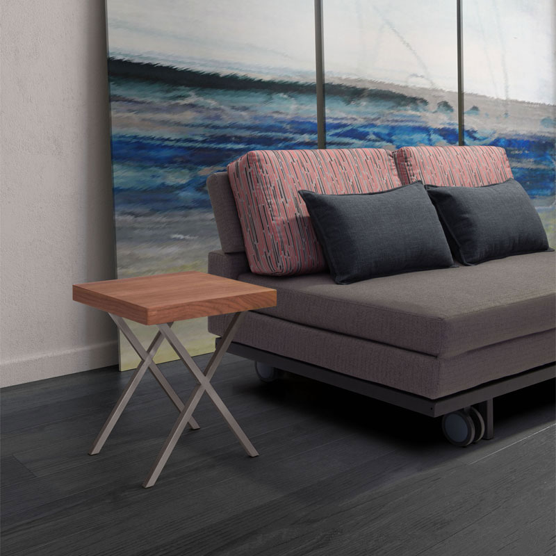 Rhine Contemporary Side Table Lifestyle