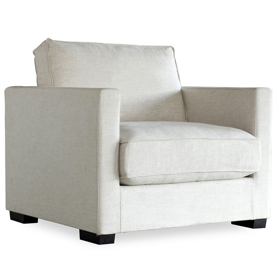 Call To Order · Richmond Contemporary Lounge Chair In Cabana Hemp
