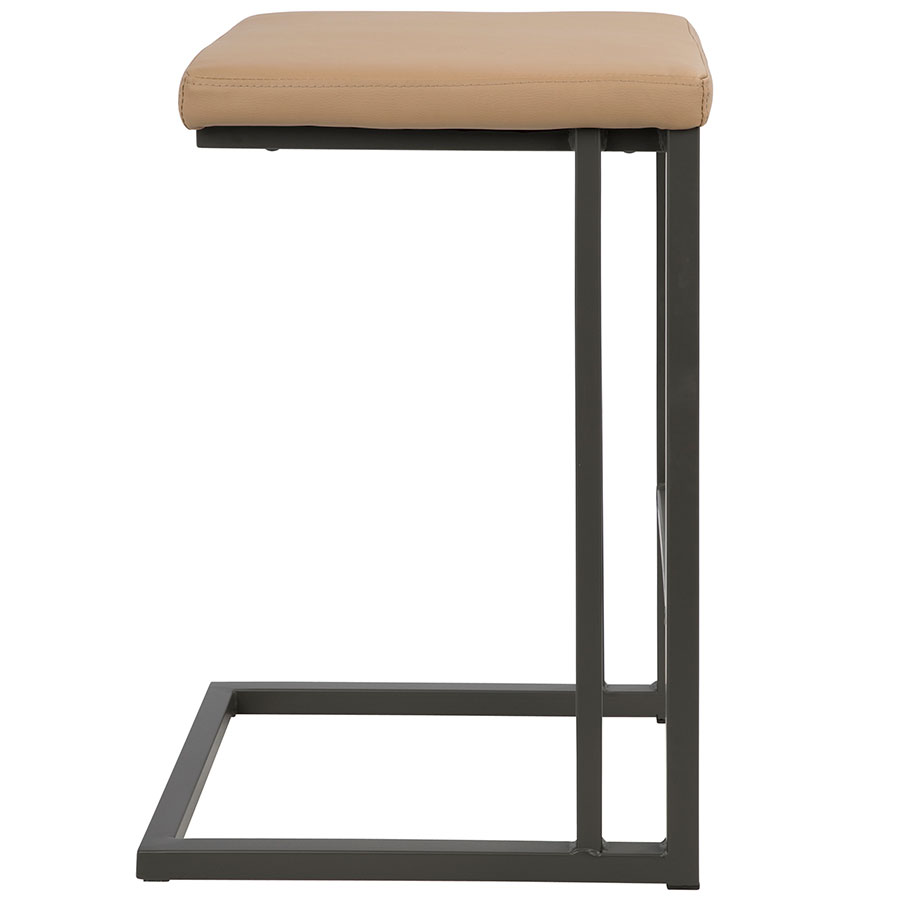 Modern Counter Stools Ridley Camel Counter Stool Eurway