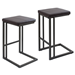 Ridley Modern Industrial Counter Stools