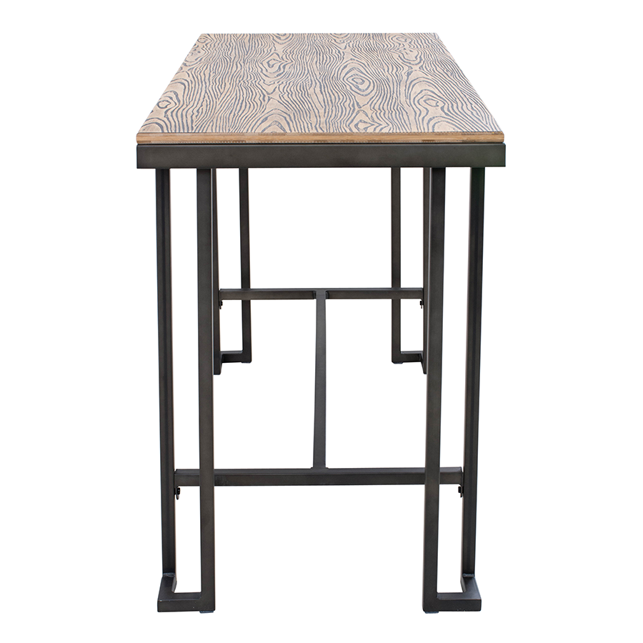 Ridley Modern Industrial Counter Table
