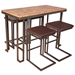Ridley Modern Counter Table + Stools Set