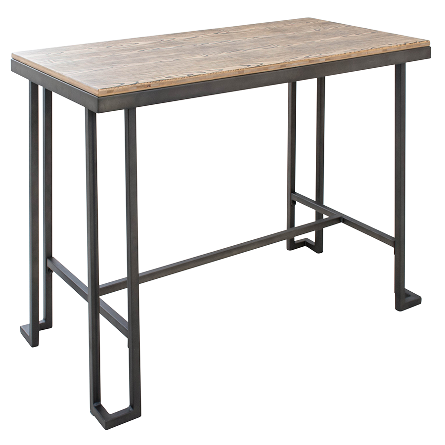 Modern counter tables ridley counter table eurway for Table bar moderne