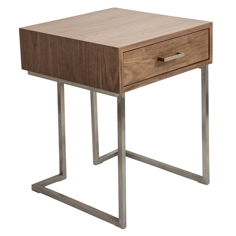 ridley modern end table nightstand - Modern Nightstand