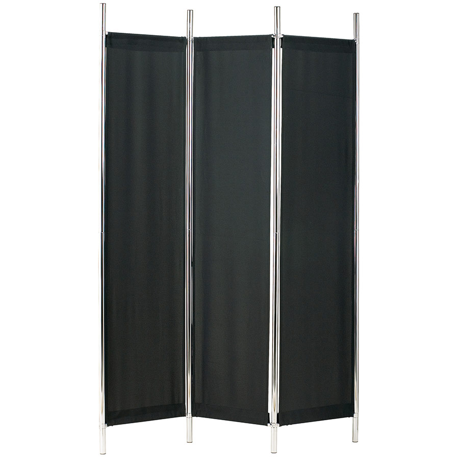 Ritz Modern Black Folding Screen