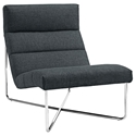Roanoke Modern Gray Lounge Chair
