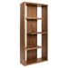Rocco Walnut Modern Shelving Unit