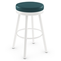 Rudy Modern Swivel Bar Stool by Amisco
