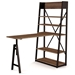 Rupert Modern Workstation by Amisco - Raised Top