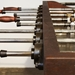 Rustic Industrial Style Foosball Table - Side Detail