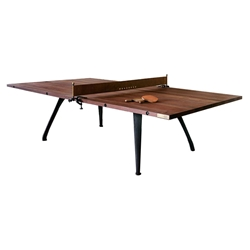 Rustic Industrial Style Ping Pong Table