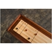 Rustic Industrial Style Shuffleboard Table - Detail