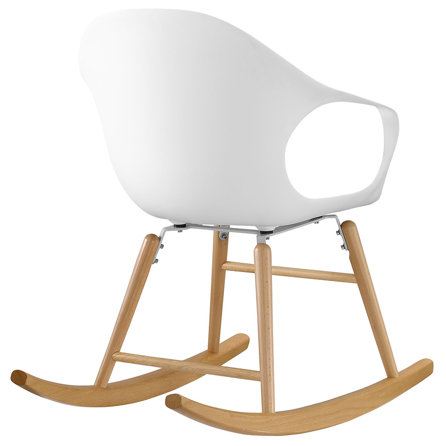 Sacramento Modern Rocking Chair - Back View