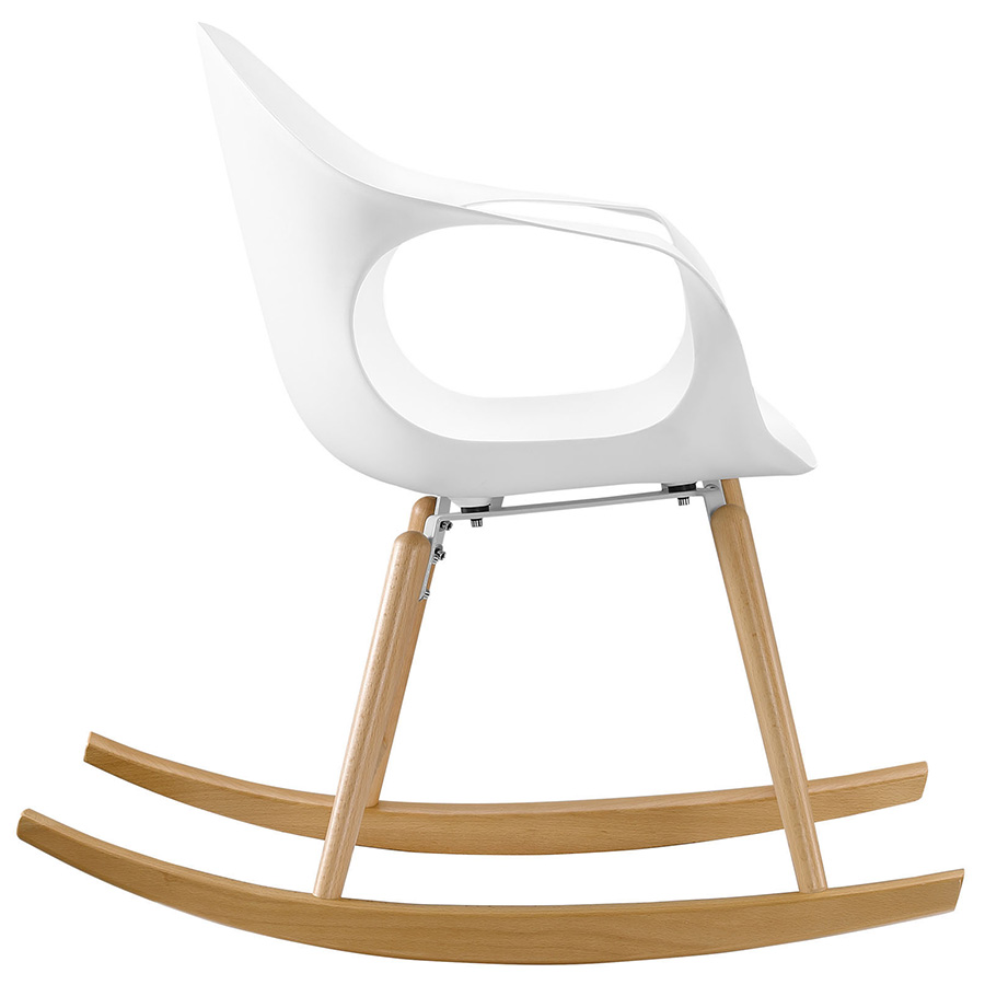 Sacramento Modern Rocking Chair - Side View