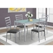 Sadler Contemporary Dining Table + Chairs Set
