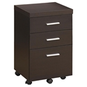 Salem Modern Mobile File Cabinet