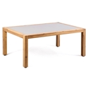 Salerno Modern Outdoor Acacia Wood Coffee Table