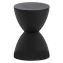Sallie Modern Stool + Accent Table in Black