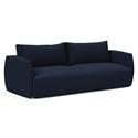 Salla Modern Sleeper Sofa in Blue by Innovation Living