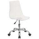 Salzburg Clear Acrylic Armless Task Chair