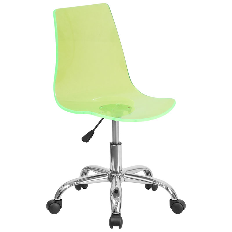 Call to Order · Salzburg Green Acrylic Armless Task Chair  sc 1 st  Eurway & Salzburg Modern Green Task Chair | Eurway Furniture