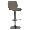 Samir Modern Adjustable Bar Stool in Taupe by Pezzan