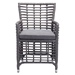 Samir Contemporary Outdoor Arm Chair