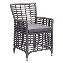 Samir Modern Outdoor Arm Chair
