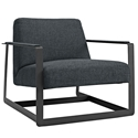 San Diego Modern Gray Lounge Chair